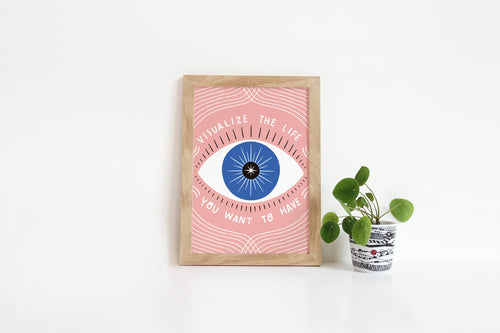 Visualize Your Life Print