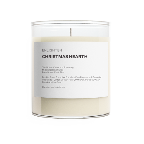 Christmas Hearth Tumbler Candle - 12oz