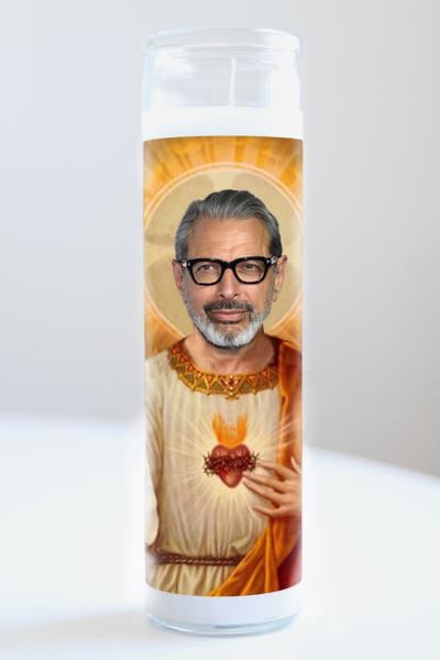 Jeff Goldblum Candle