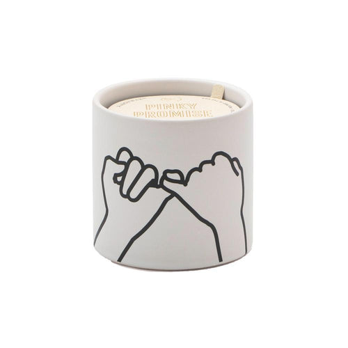 Wild Fig & Cedar Ceramic Candle- Pinky Promise! 5.75oz