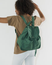 Load image into Gallery viewer, BAGGU Drawstring Backpack - Eucalyptus