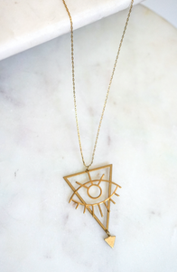 Eye See Pendant Necklace