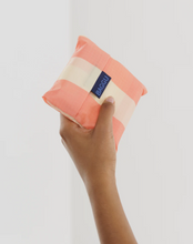 Load image into Gallery viewer, BAGGU Reusable Tote - Washed Brick Stripe