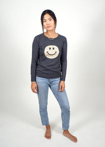Happy Sweater - Grey