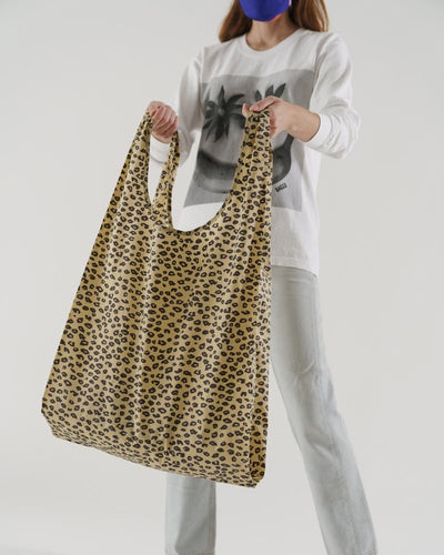 BAGGU Big Reusable Tote - Honey Leopard