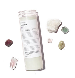 Intuition Intention Candle - 14oz Mantra