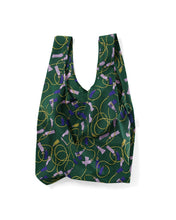 Load image into Gallery viewer, BAGGU Reusable Tote - Green Tassel