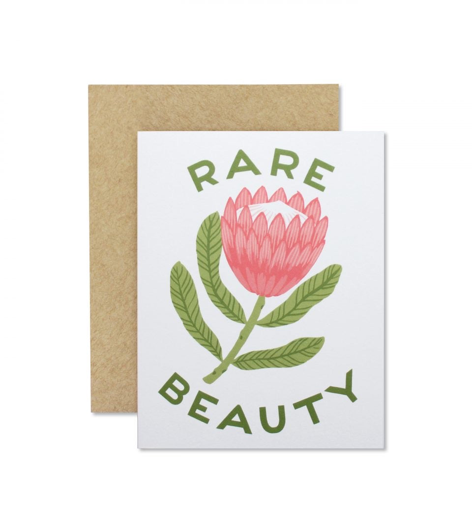 Rare Beauty Greeting Card