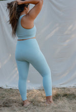"Load image into Gallery viewer, Girlfriend Collective Compressive High-rise Legging 23 3/4""- Sky"