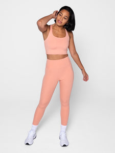 "Girlfriend Collective Compressive High-rise Legging 28.5"" - Sherbert"