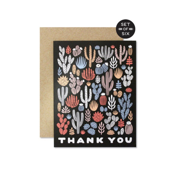 Sunset Cactus Greeting Cards - Boxed Set