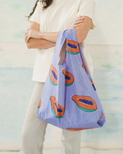 Load image into Gallery viewer, BAGGU Reusable Tote - Blue Papaya