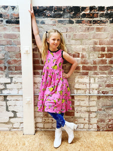 Nooworks Tiny Dancer Dress - Bananas