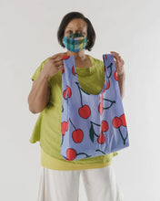 Load image into Gallery viewer, BAGGU Reusable Tote - Big Cherry