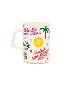 Hot Stuff Big Ceramic Mug - Staycation