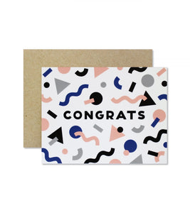 CONGRATS Greeting Card
