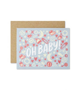 Oh Baby Greeting Card