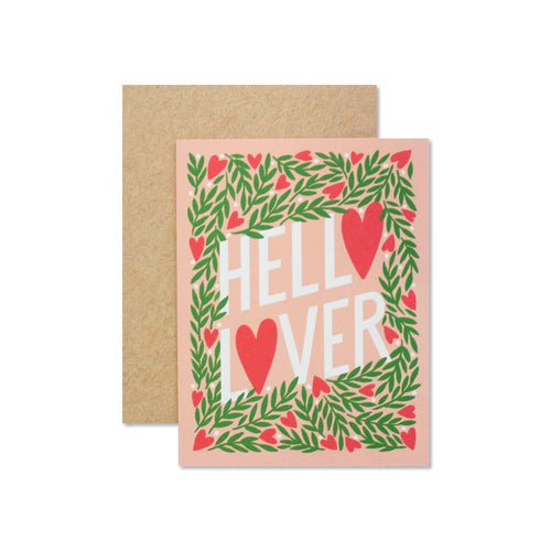 Hello Lover Greeting Card