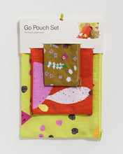Load image into Gallery viewer, BAGGU Go Pouch Set - Summer Plants