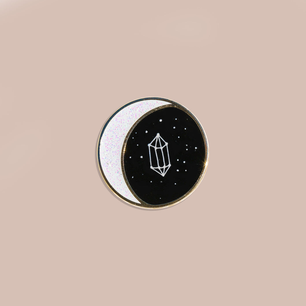 Moon Phase Enamel Pin