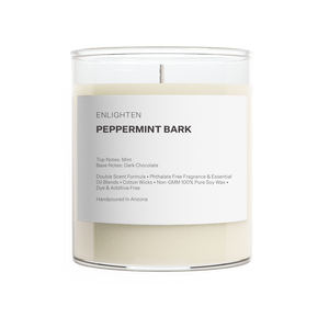 Peppermint Bark Tumbler Candle - 12oz
