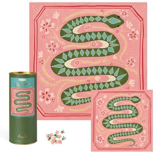 Mister Slithers Jigsaw Puzzle