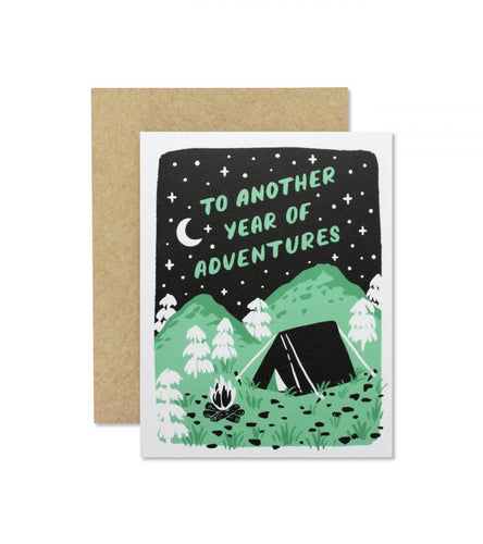Another Adventure Greeting Card