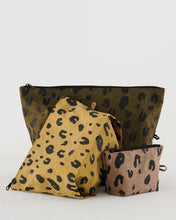 Load image into Gallery viewer, BAGGU Go Pouch Set - Leopard