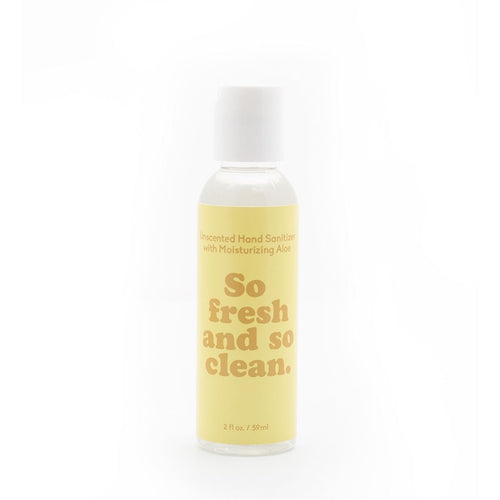 Hand Sanitizer- So Fresh & So Clean