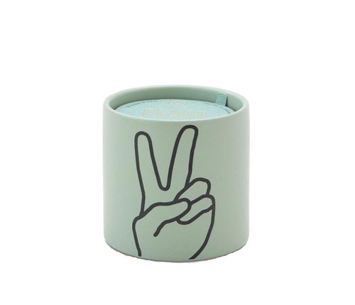 Lavender & Thyme Ceramic Candle - Peace! 5oz