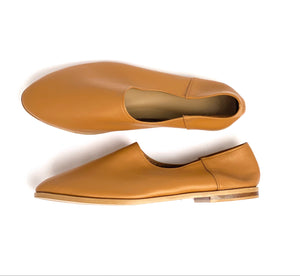 Songbird Leather Cover Flat - Tan