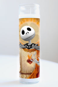 Jack Skellington (Nightmare Before Christmas) Candle