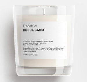 Cooling Mist Glass Tumbler Candle - 12oz