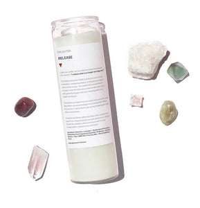 Release Intention Candle - 14oz Mantra
