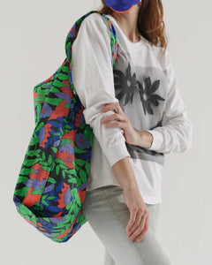 BAGGU Big Reusable Tote - Midnight Fern