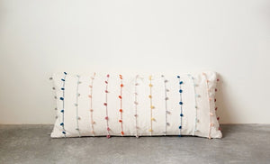 Cotton Loop Pillow - Multi