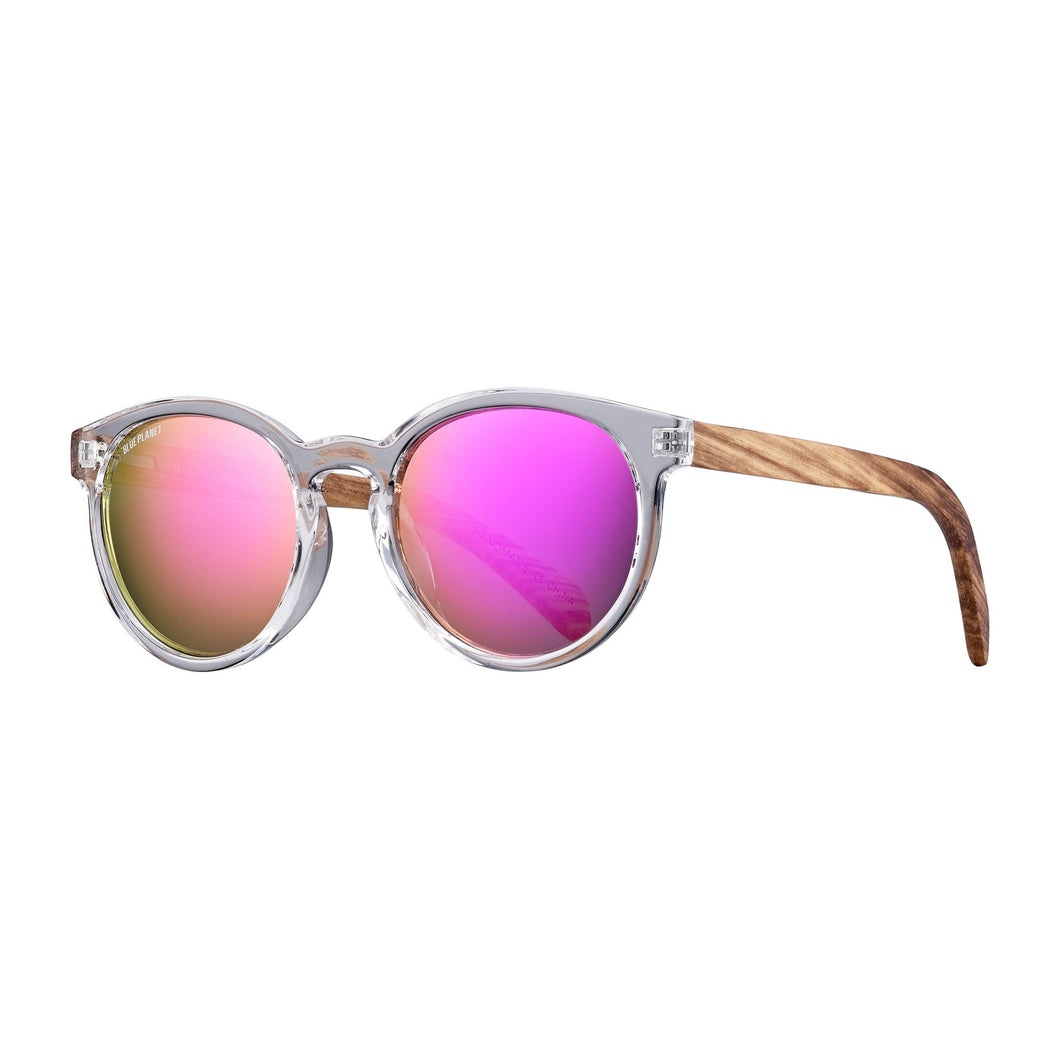Blue Planet - ANDIZ POLARIZED in Clear/Zebrawood