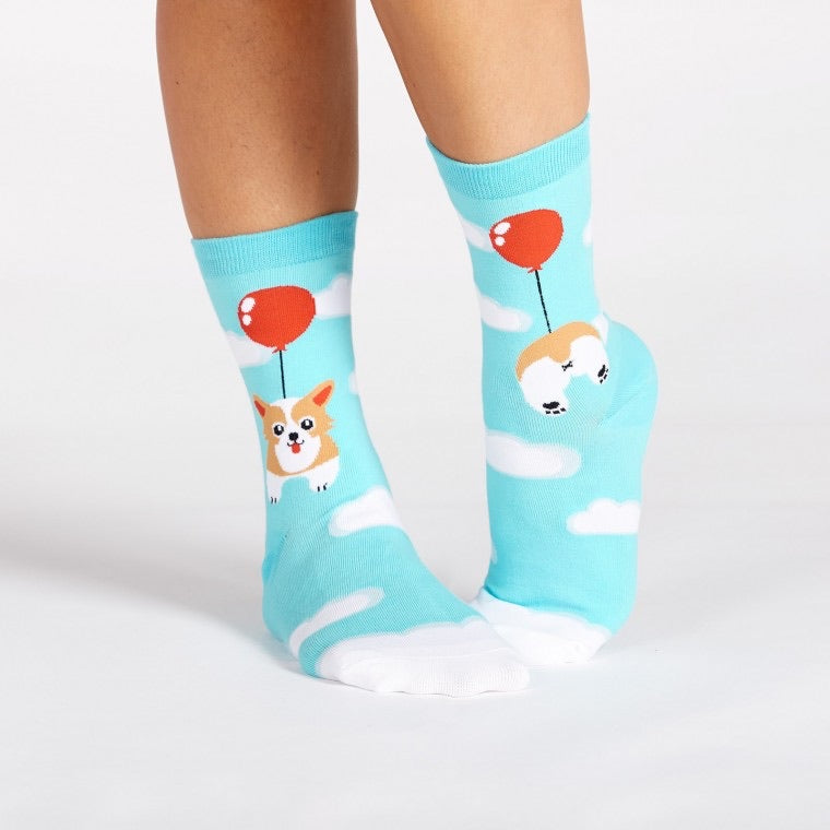 Pup, Pup, & Away Crew Sock