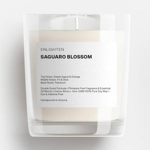 Saguaro Blossom Glass Tumbler Candle - 12oz