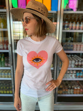 Load image into Gallery viewer, Ojo Sagrado T-Shirt in Pink
