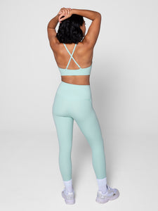 "Girlfriend Collective Compressive High-rise Legging 28.5"" - Seafoam"