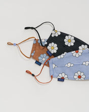 Load image into Gallery viewer, BAGGU Loop Fabric Mask Set - Daisy