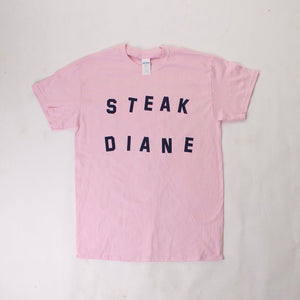 Steak Diane Tee Shirt by Katie Kimmel