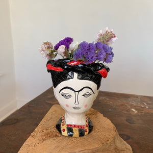 Frida Kahlo Planter Vase
