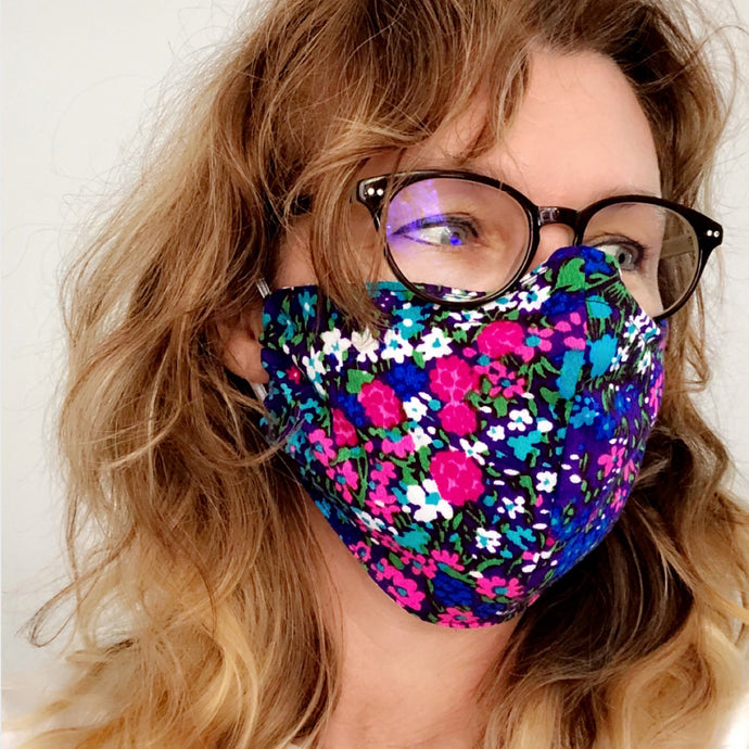 Cloth Face Mask - Free Pattern