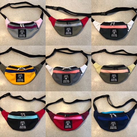 finished fanny packs