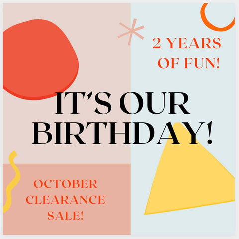 American Happy's 2 year Birthday Clearance Sale