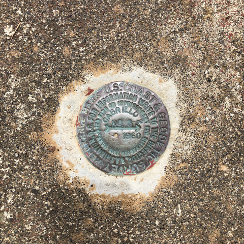 Cabrillo survey mark