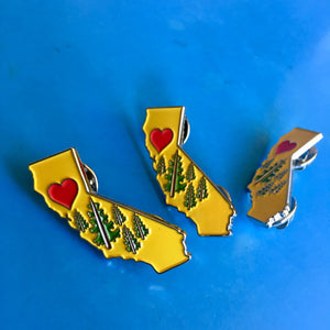 California Love Pin Butte County Camp Fire Fundraiser