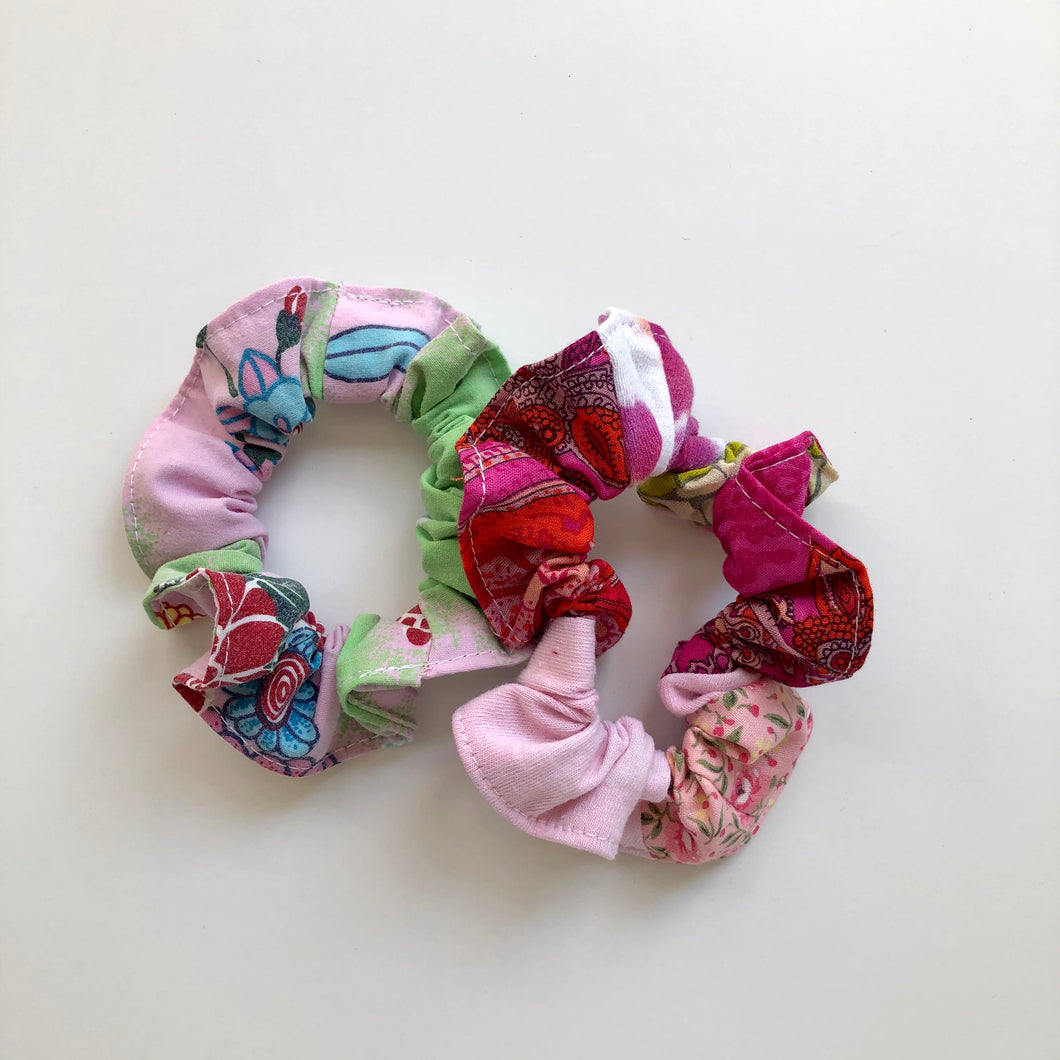 NEW!  Scrap Scrunchies - set of 2